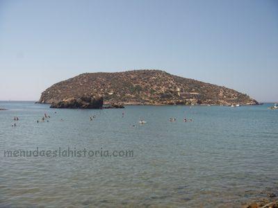 Yacimiento fenicio en la Playa de la Isla (Mazarrón)