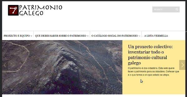 patrimoniogalego.net, una web para conocer la Historia de Galicia